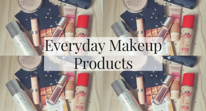 Everyday Drugstore Makeup Products